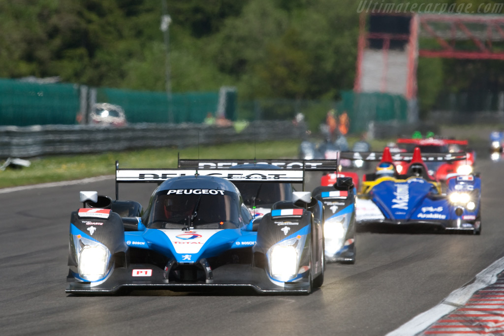 LMP1 leaders - Chassis: 908-04   - 2009 Le Mans Series Spa 1000 km