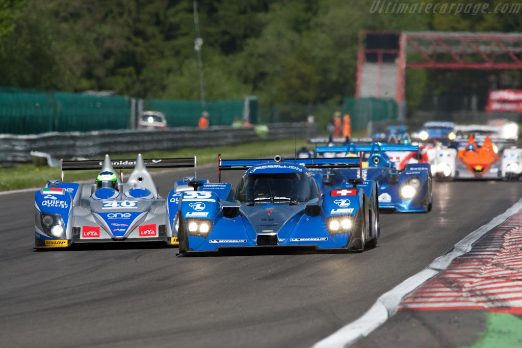 LMP2 leaders - Chassis: B0880-HU01   - 2009 Le Mans Series Spa 1000 km