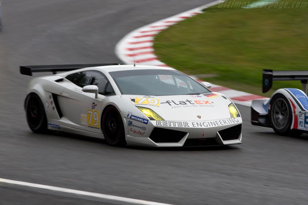 Lamborghini Gallardo LP560/4 GT2 - Chassis: LA07030   - 2009 Le Mans Series Spa 1000 km