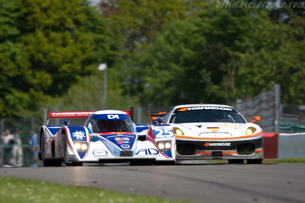 Lola B08/80 Mazda - Chassis: B0880-HU03   - 2009 Le Mans Series Spa 1000 km