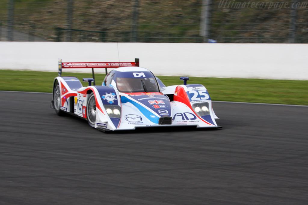 Lola B08/80 Mazda sideways - Chassis: B0880-HU03   - 2009 Le Mans Series Spa 1000 km
