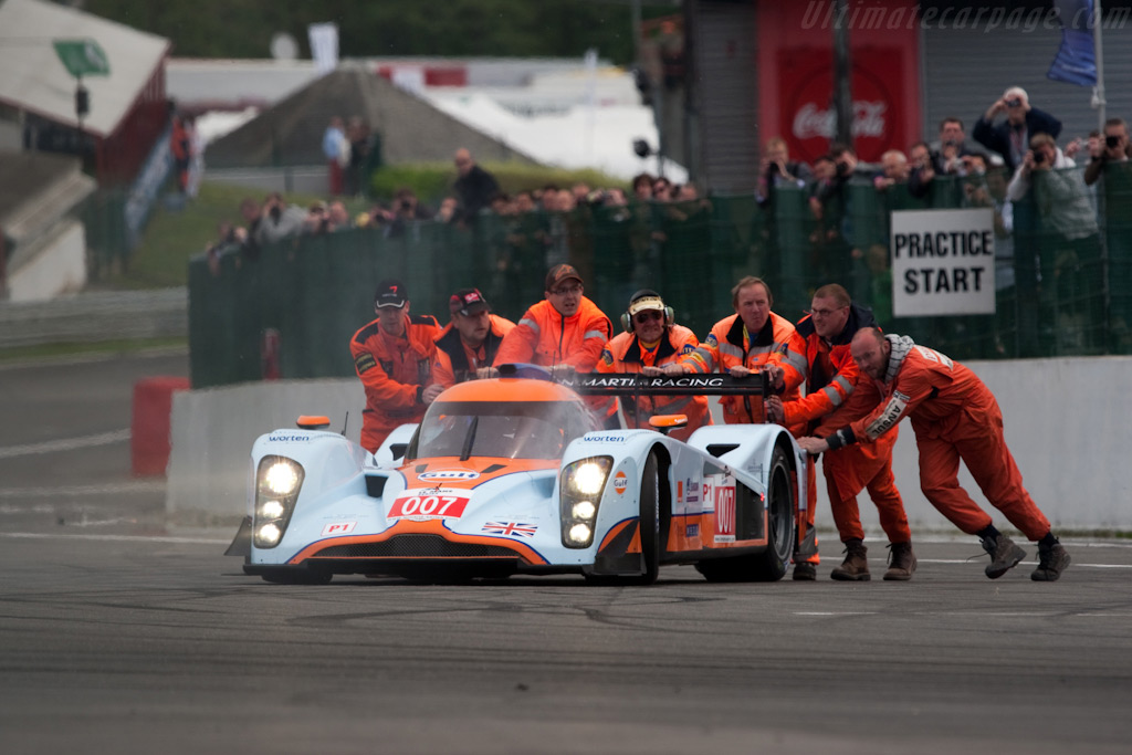 More Aston Martin trouble - Chassis: B0960-HU02   - 2009 Le Mans Series Spa 1000 km