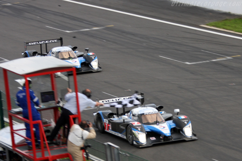 Not quite a one-two - Chassis: 908-04   - 2009 Le Mans Series Spa 1000 km