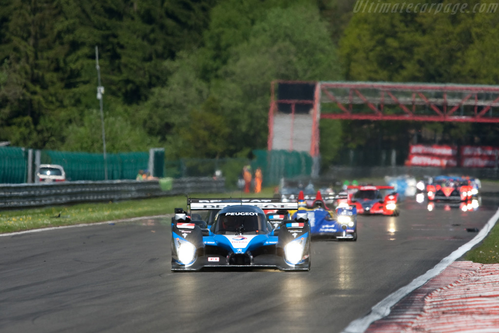 Off they go - Chassis: 908-04   - 2009 Le Mans Series Spa 1000 km