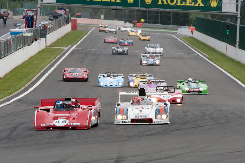 Off they go    - 2009 Le Mans Series Spa 1000 km