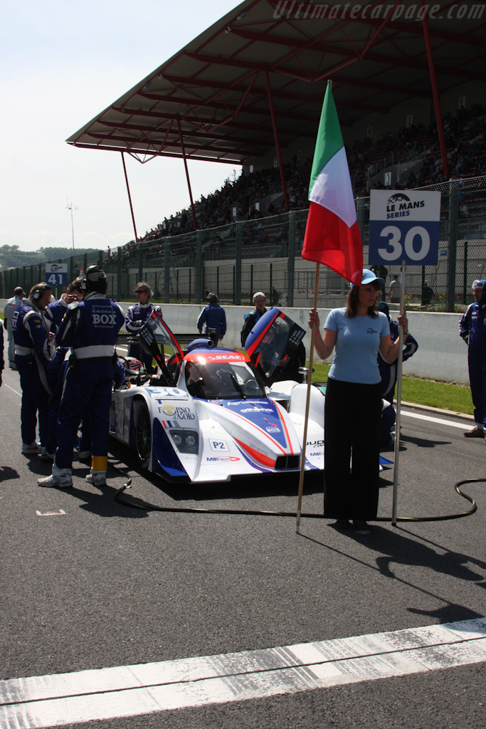 On the Grid    - 2009 Le Mans Series Spa 1000 km