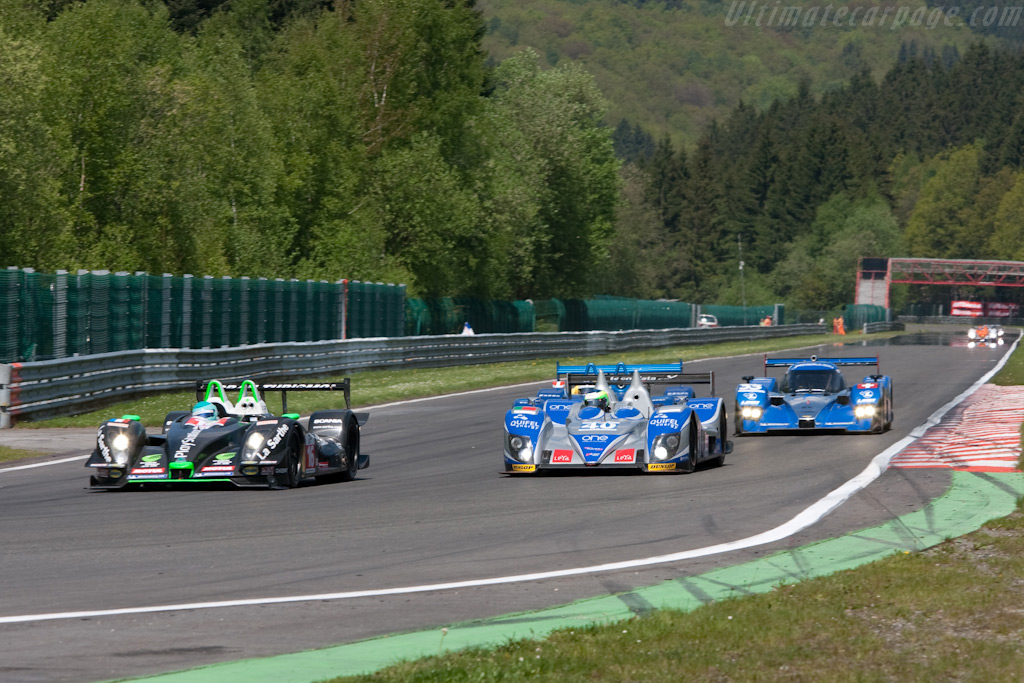 Pescarolo slicing through the field - Chassis: 01-08   - 2009 Le Mans Series Spa 1000 km