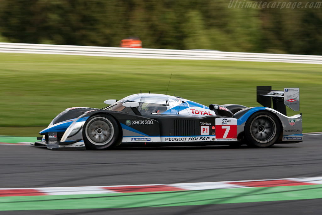 Peugeot 908 HDi Fap - Chassis: 908-04   - 2009 Le Mans Series Spa 1000 km