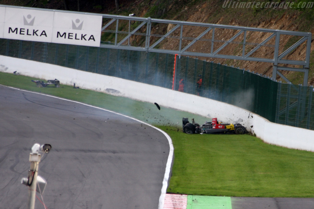 Senna spinning - Chassis: 01   - 2009 Le Mans Series Spa 1000 km
