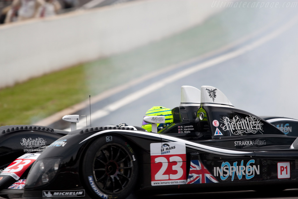 Sliding Ginetta-Zytek - Chassis: 09S-04   - 2009 Le Mans Series Spa 1000 km