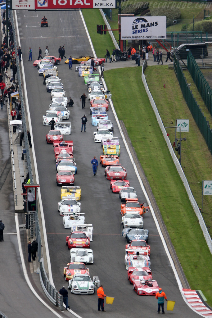 The CER field    - 2009 Le Mans Series Spa 1000 km