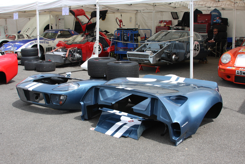 The CER paddock    - 2009 Le Mans Series Spa 1000 km