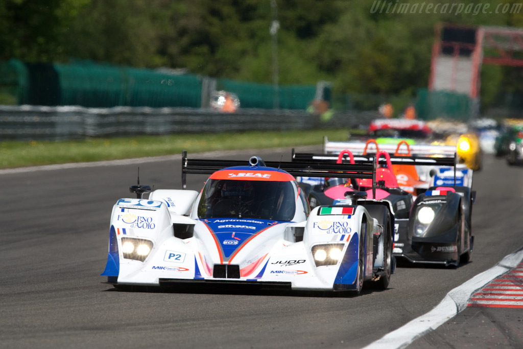 The car continued for seven laps ... - Chassis: B0880-HU04   - 2009 Le Mans Series Spa 1000 km