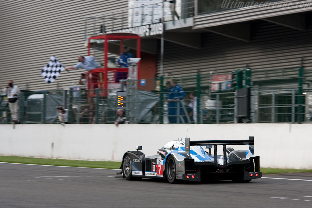 The winner - Chassis: 908-04   - 2009 Le Mans Series Spa 1000 km