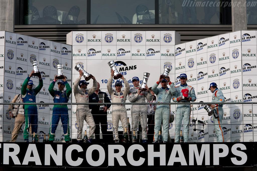 Trophies    - 2009 Le Mans Series Spa 1000 km