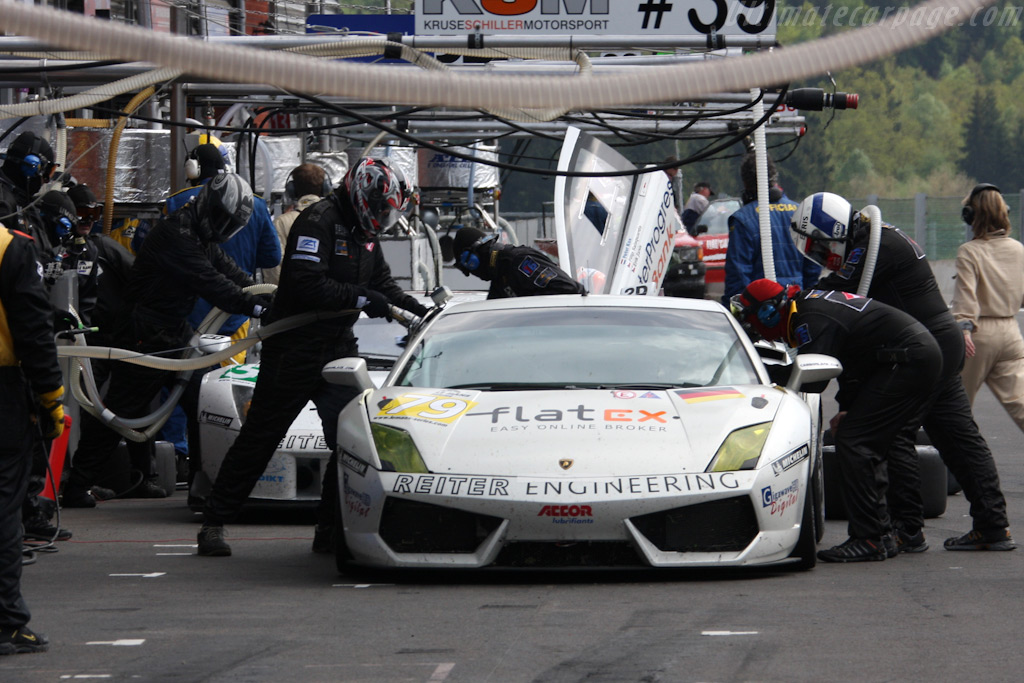 Two Reiter Lambos - Chassis: LA07030   - 2009 Le Mans Series Spa 1000 km
