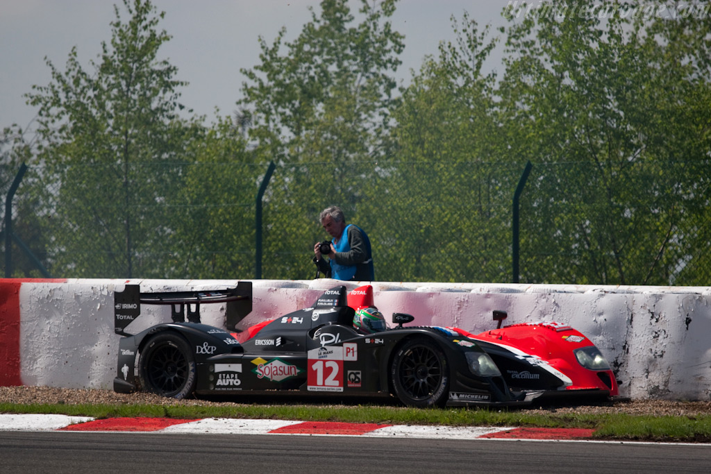 Victim of the warm-up lap - Chassis: LC70-11   - 2009 Le Mans Series Spa 1000 km