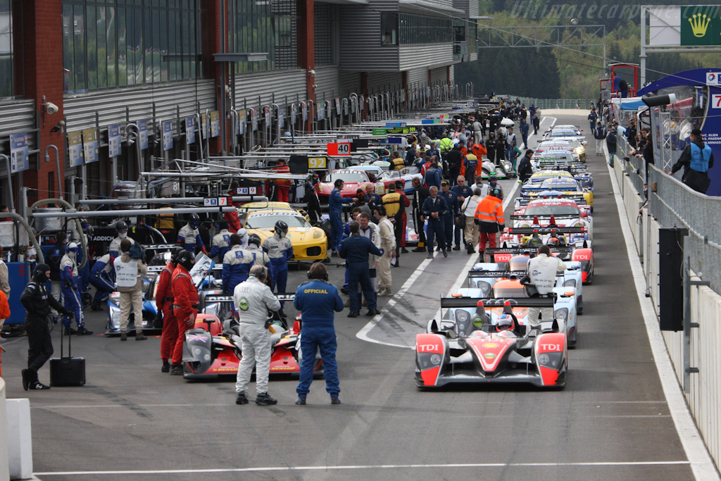 Welcome to Spa Francorchamps    - 2009 Le Mans Series Spa 1000 km