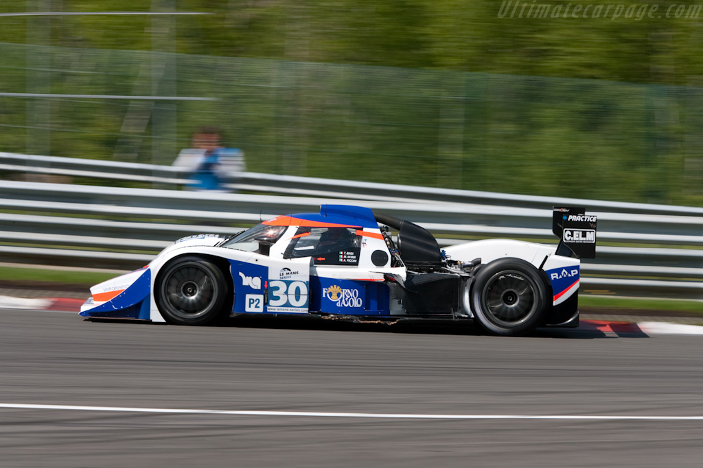 despite showing its privates - Chassis: B0880-HU04   - 2009 Le Mans Series Spa 1000 km