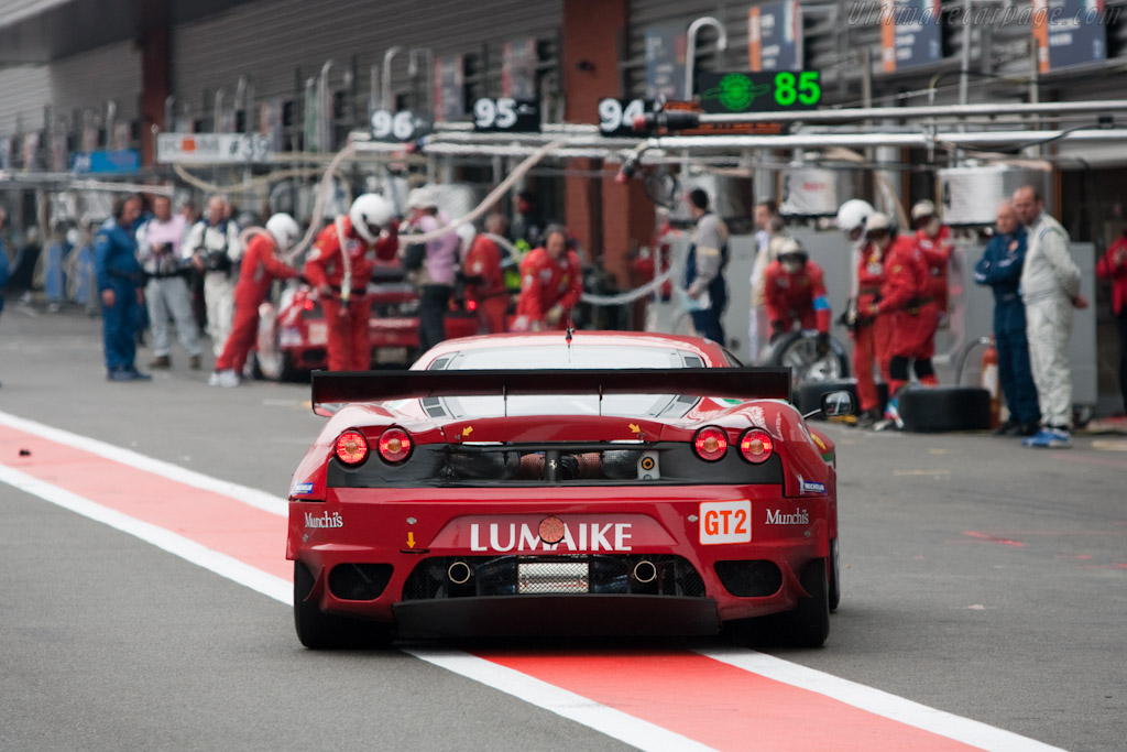 AF Corse stops - Chassis: 2624   - 2010 Le Mans Series Spa 1000 km