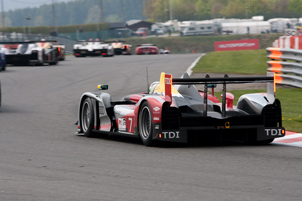 Audi R15 plus - Chassis: 202   - 2010 Le Mans Series Spa 1000 km