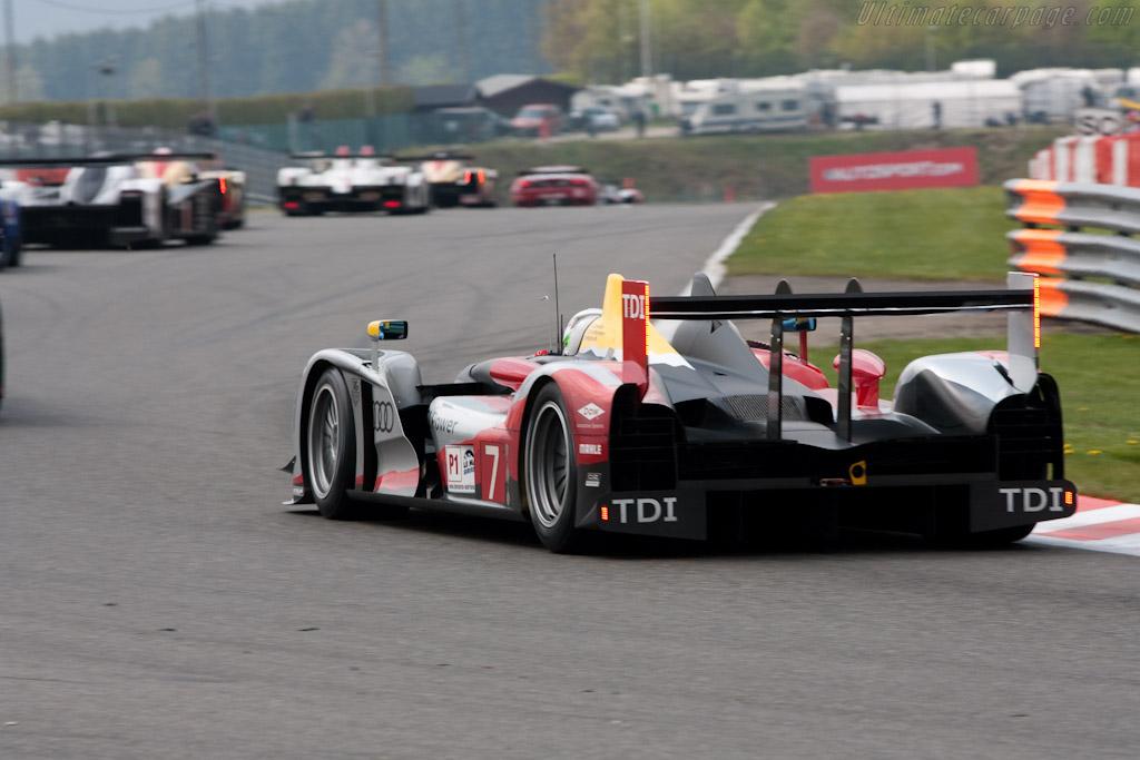 Audi R15 plus - Chassis: 202   - 2010 Le Mans Series Spa 1000 km