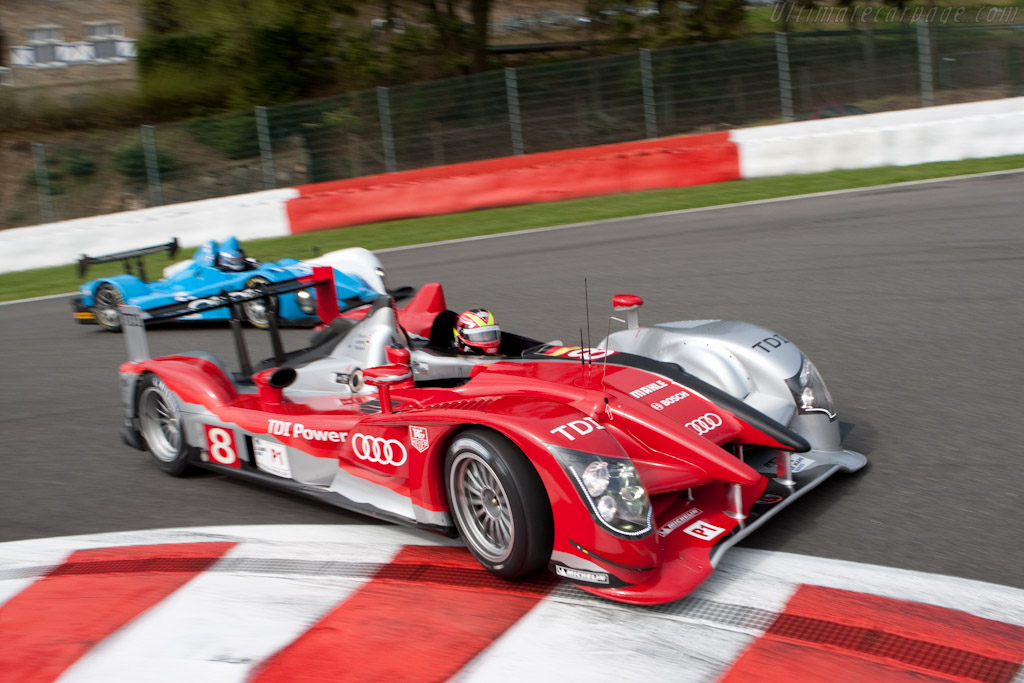Audi R15 plus - Chassis: 203   - 2010 Le Mans Series Spa 1000 km
