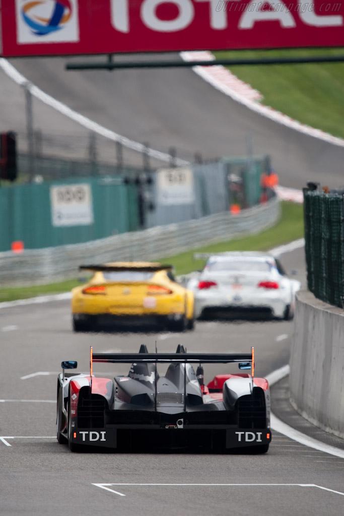 Audi R15 plus - Chassis: 204   - 2010 Le Mans Series Spa 1000 km