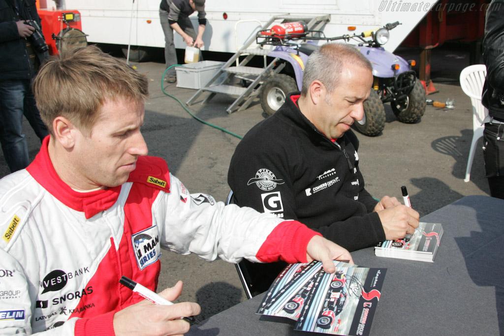 Autograph Session    - 2010 Le Mans Series Spa 1000 km