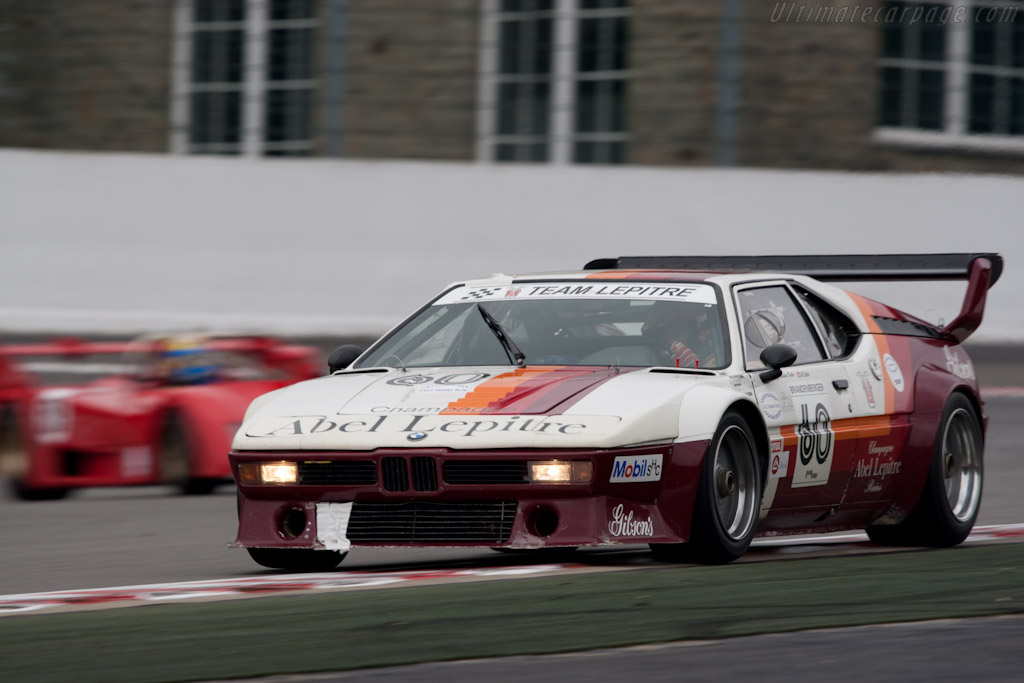 BMW M1 Group 4 - Chassis: 4301063   - 2010 Le Mans Series Spa 1000 km
