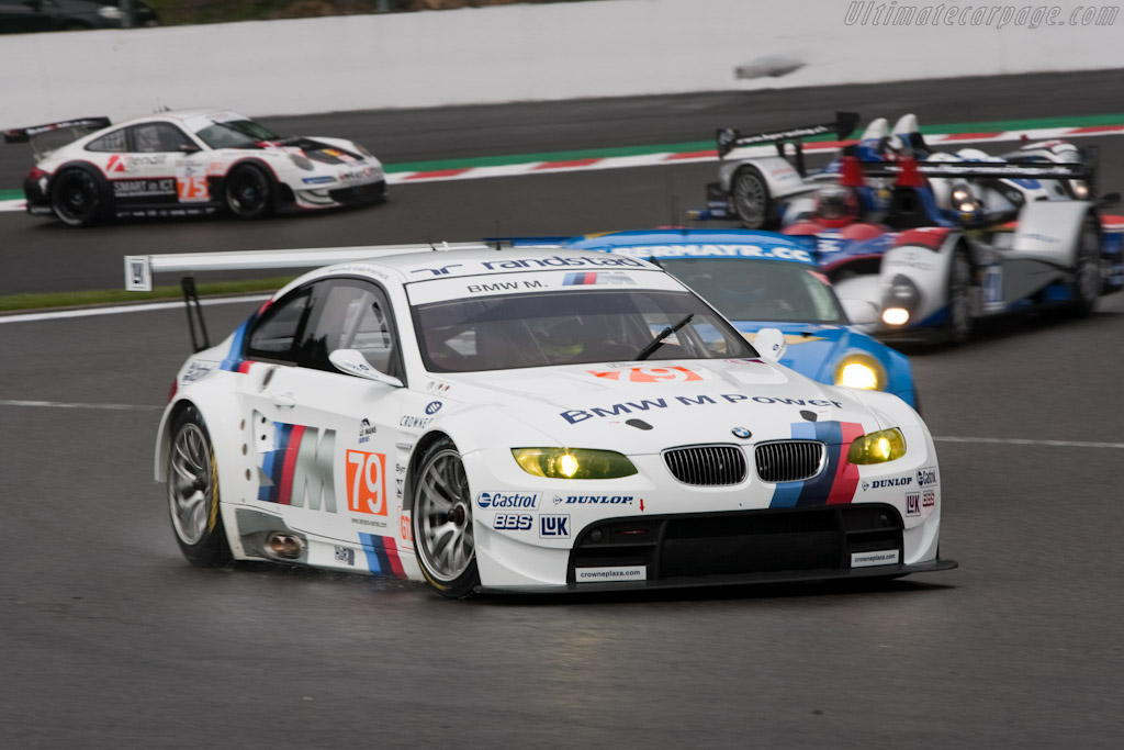 BMW M3 GTR - Chassis: 1002   - 2010 Le Mans Series Spa 1000 km