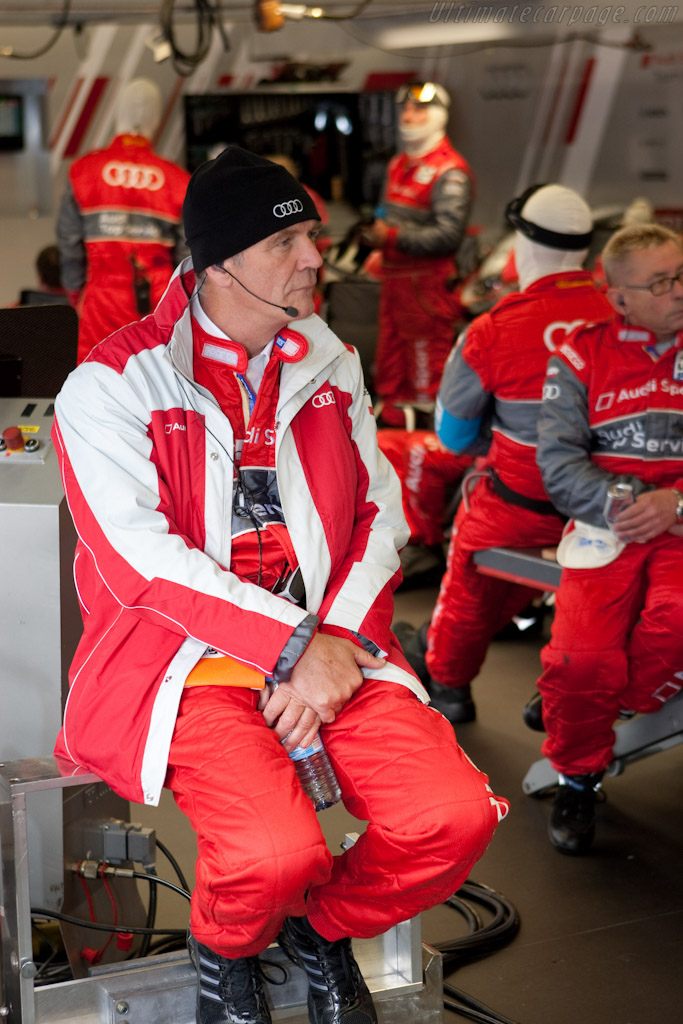 Dr Wolfgang Ullrich    - 2010 Le Mans Series Spa 1000 km