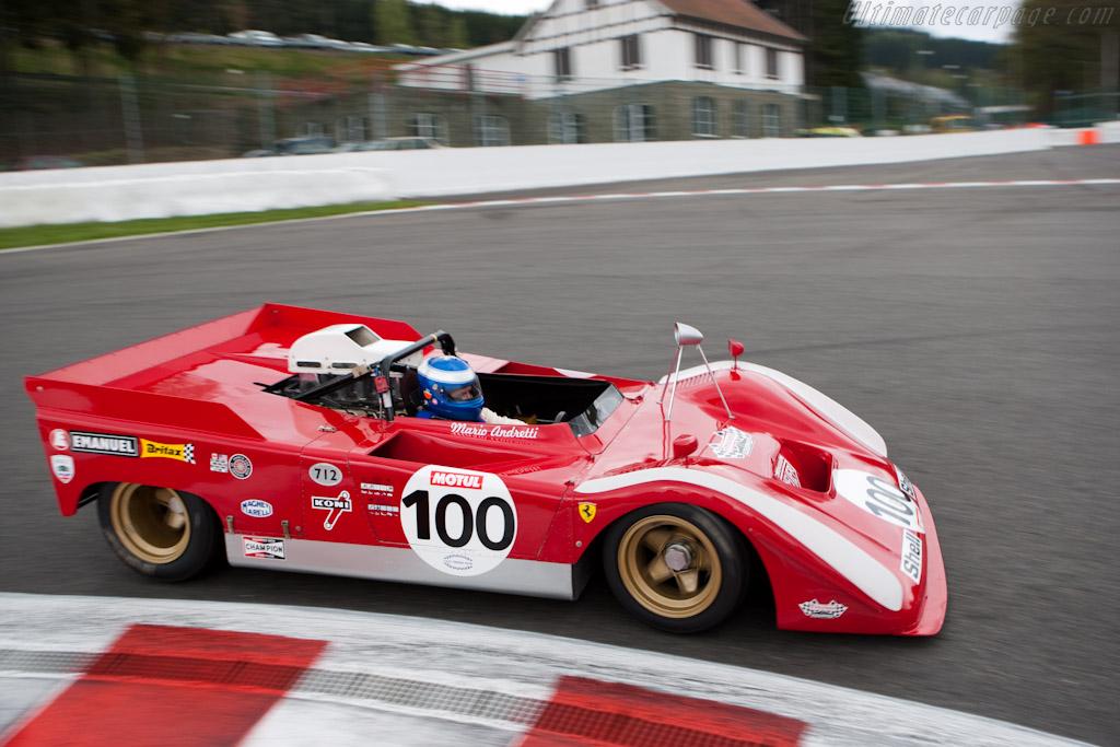 Ferrari 712 Can-Am - Chassis: 1010 - Driver: Paul Knapfield  - 2010 Le Mans Series Spa 1000 km