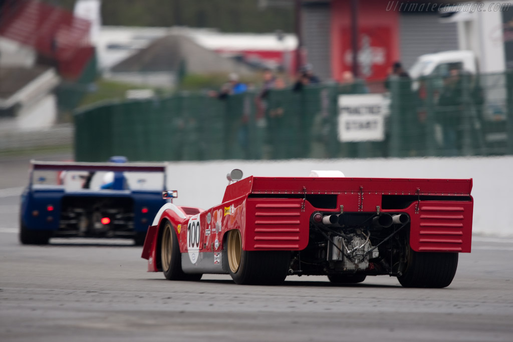 Ferrari 712 Can-Am - Chassis: 1010 - Driver: Paul Knapfield  - 2010 Le Mans Series Spa 1000 km