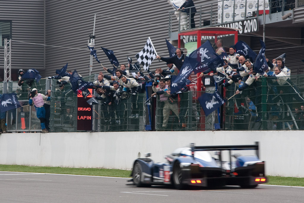Finish - Chassis: 908-07   - 2010 Le Mans Series Spa 1000 km