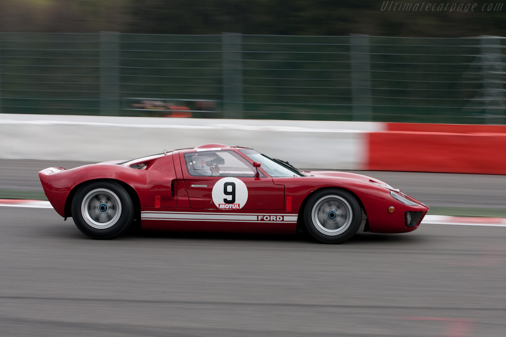 Ford GT40    - 2010 Le Mans Series Spa 1000 km