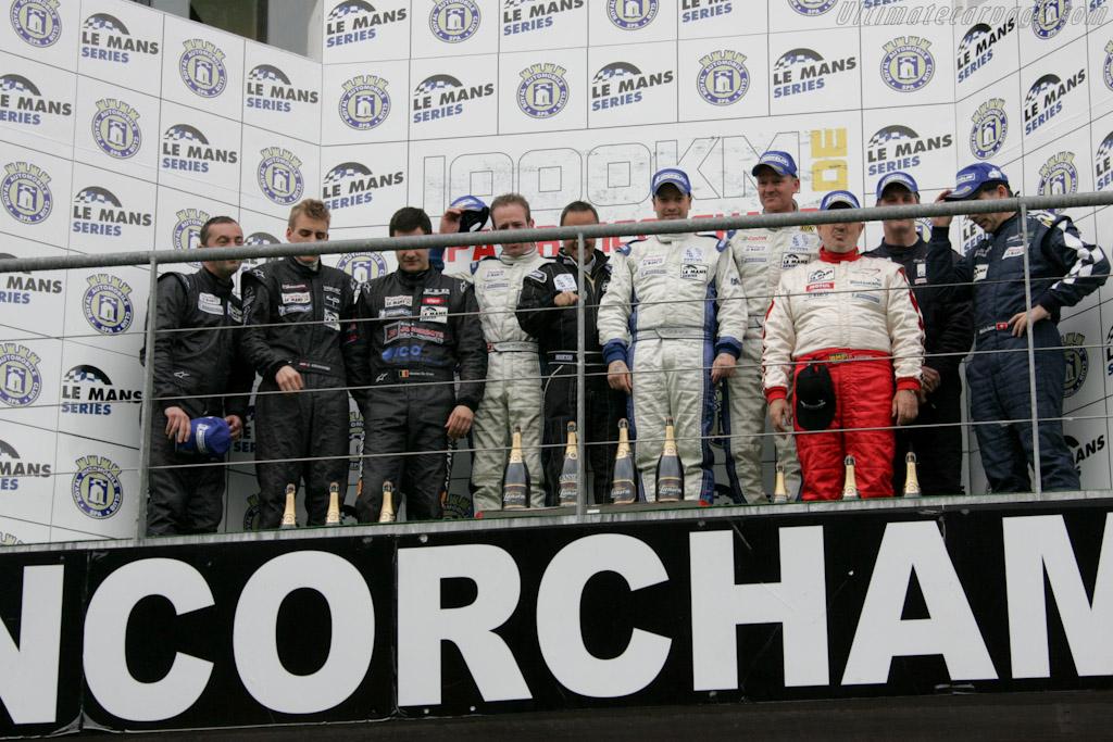 Formula Le Mans podium    - 2010 Le Mans Series Spa 1000 km