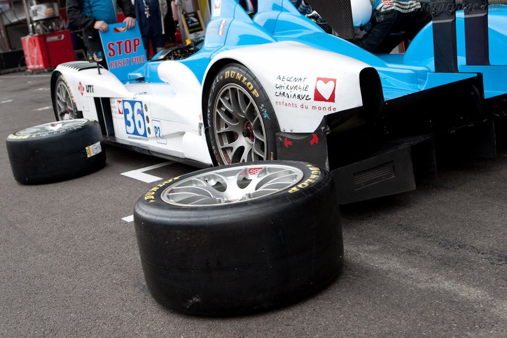 Fresh Michelins - Chassis: LC70-1   - 2010 Le Mans Series Spa 1000 km