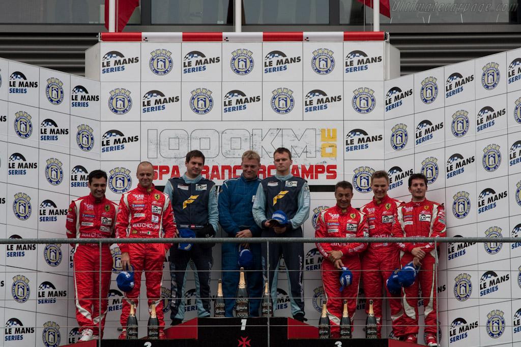 GT2 Podium    - 2010 Le Mans Series Spa 1000 km