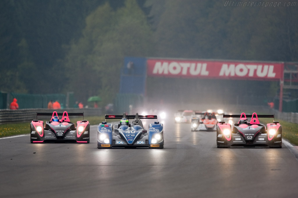 LMP2 leaders - Chassis: 09S-05   - 2010 Le Mans Series Spa 1000 km