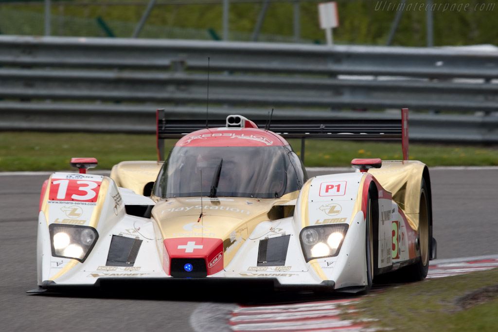 Lola B10/60 Rebellion - Chassis: B0860-HU01   - 2010 Le Mans Series Spa 1000 km
