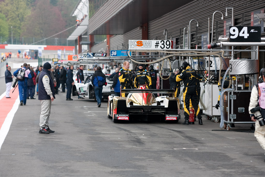 Lola B10/60 Rebellion - Chassis: B1060-HU01   - 2010 Le Mans Series Spa 1000 km