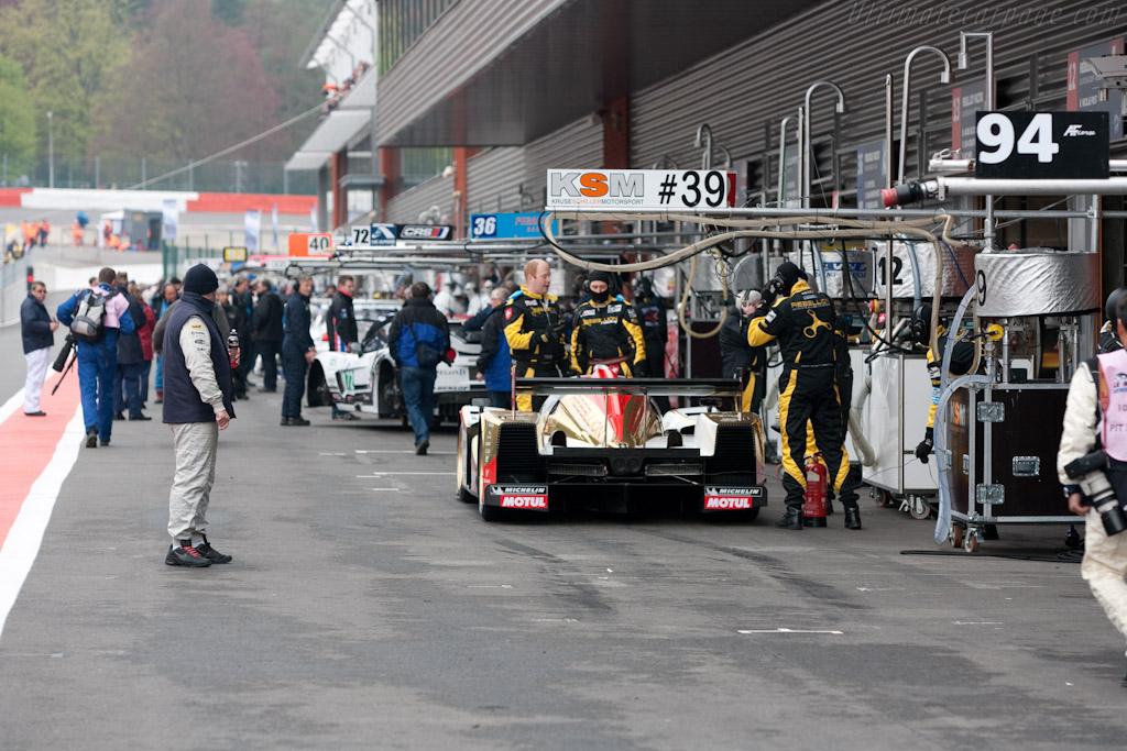 Lola B10/60 Rebellion - Chassis: B1060-HU01   - 2010 Le Mans Series Spa 1000 km