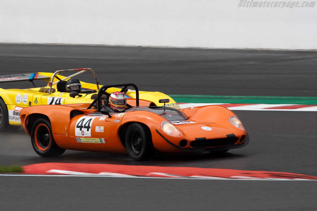 Lola T70 Mk II Chevrolet - Chassis: SL71/25   - 2010 Le Mans Series Spa 1000 km