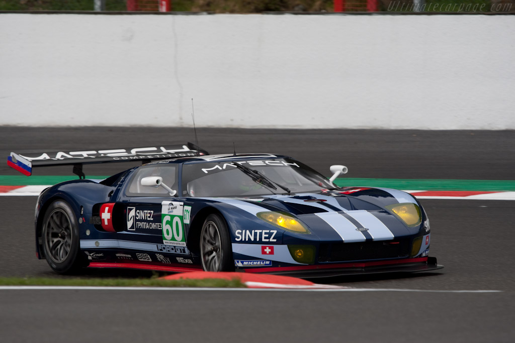 Matech Ford GT1 - Chassis: MR10FORDGT1SN001   - 2010 Le Mans Series Spa 1000 km