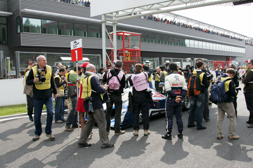 Media mob - Chassis: 908-08  - 2010 Le Mans Series Spa 1000 km