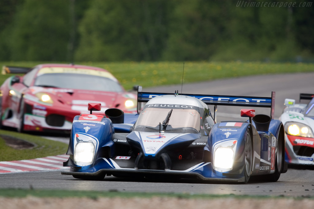 Peugeot 908 HDI Fap - Chassis: 908-06  - 2010 Le Mans Series Spa 1000 km