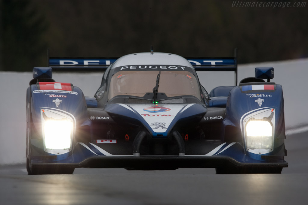 Peugeot 908 HDI Fap - Chassis: 908-08  - 2010 Le Mans Series Spa 1000 km