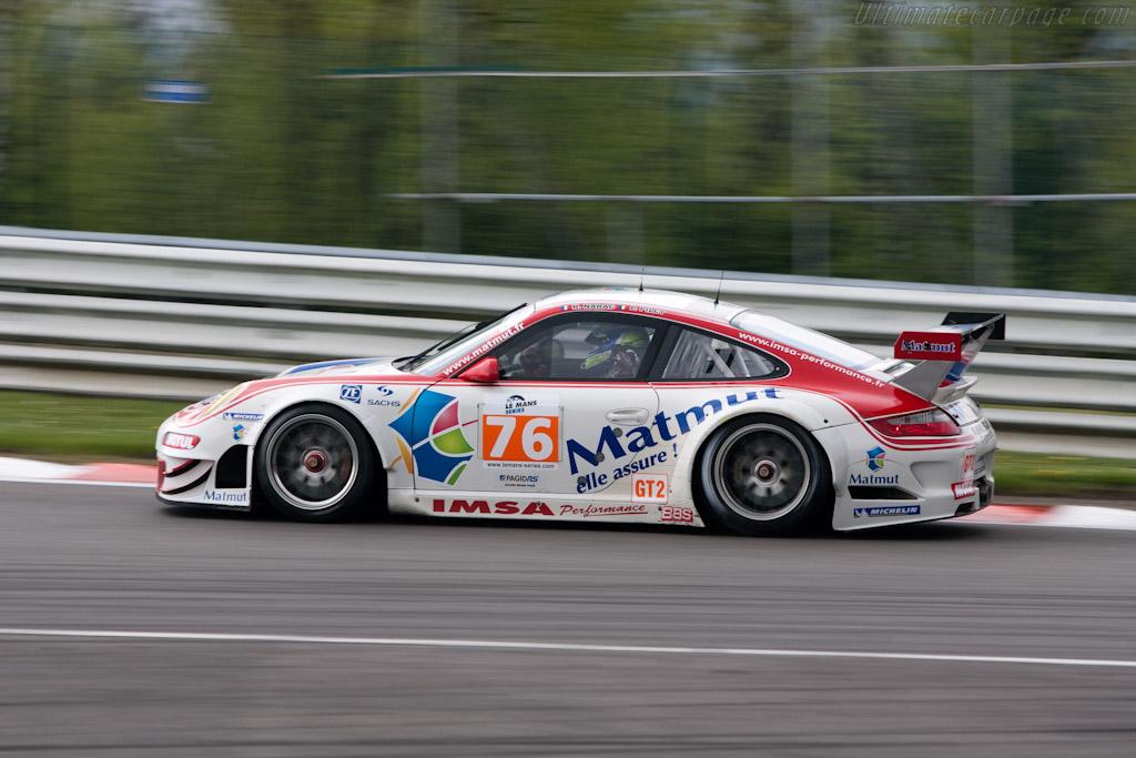 Porsche 997 GT3 RSR - Chassis: WP0ZZZ99Z9S799915   - 2010 Le Mans Series Spa 1000 km