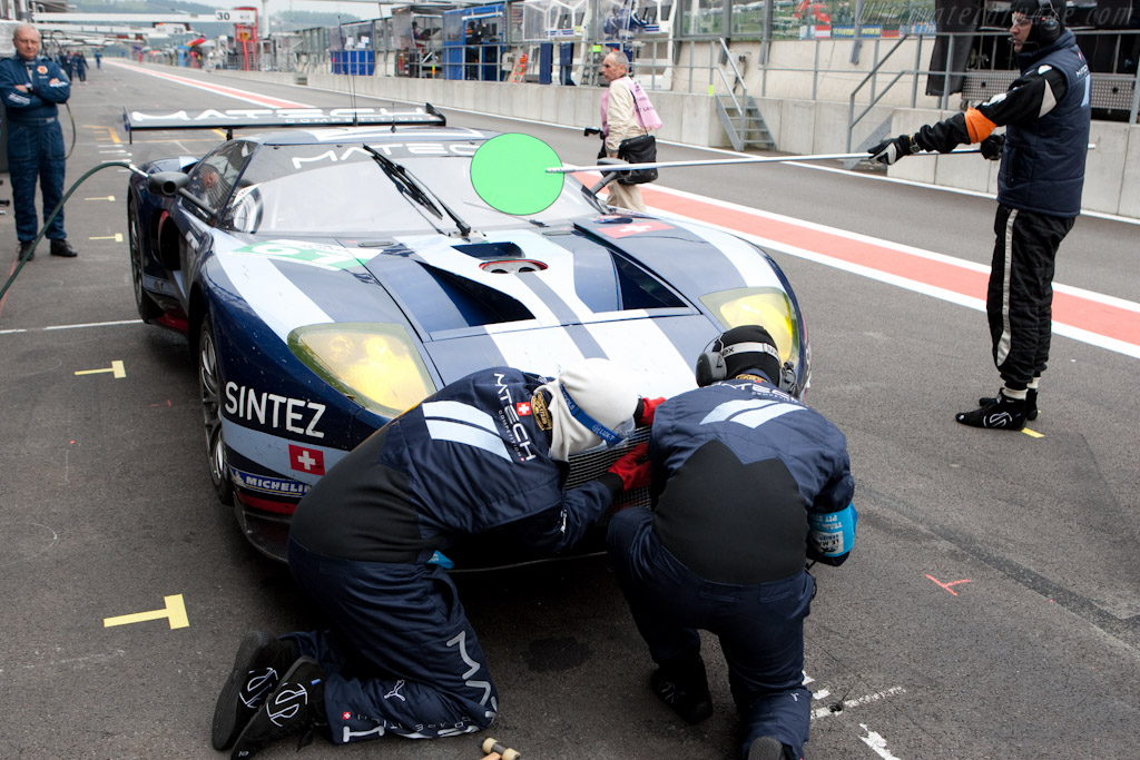 Quick repairs - Chassis: MR10FORDGT1SN005   - 2010 Le Mans Series Spa 1000 km